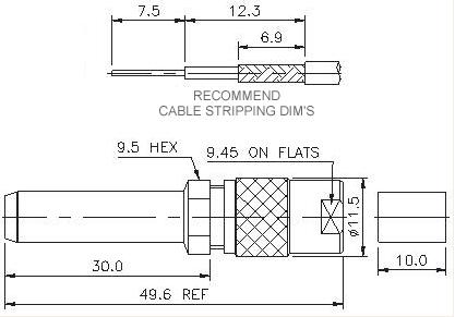 Straight Patch Plug Crimp