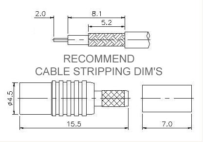 Straight Socket Crimp