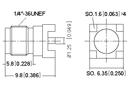 Vertical Socket SMD ,PCB