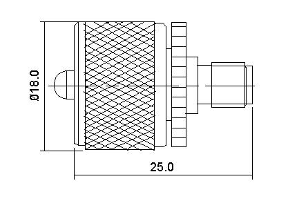 SMA Socket to UHF Plug