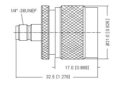 SMA Socket to N Plug